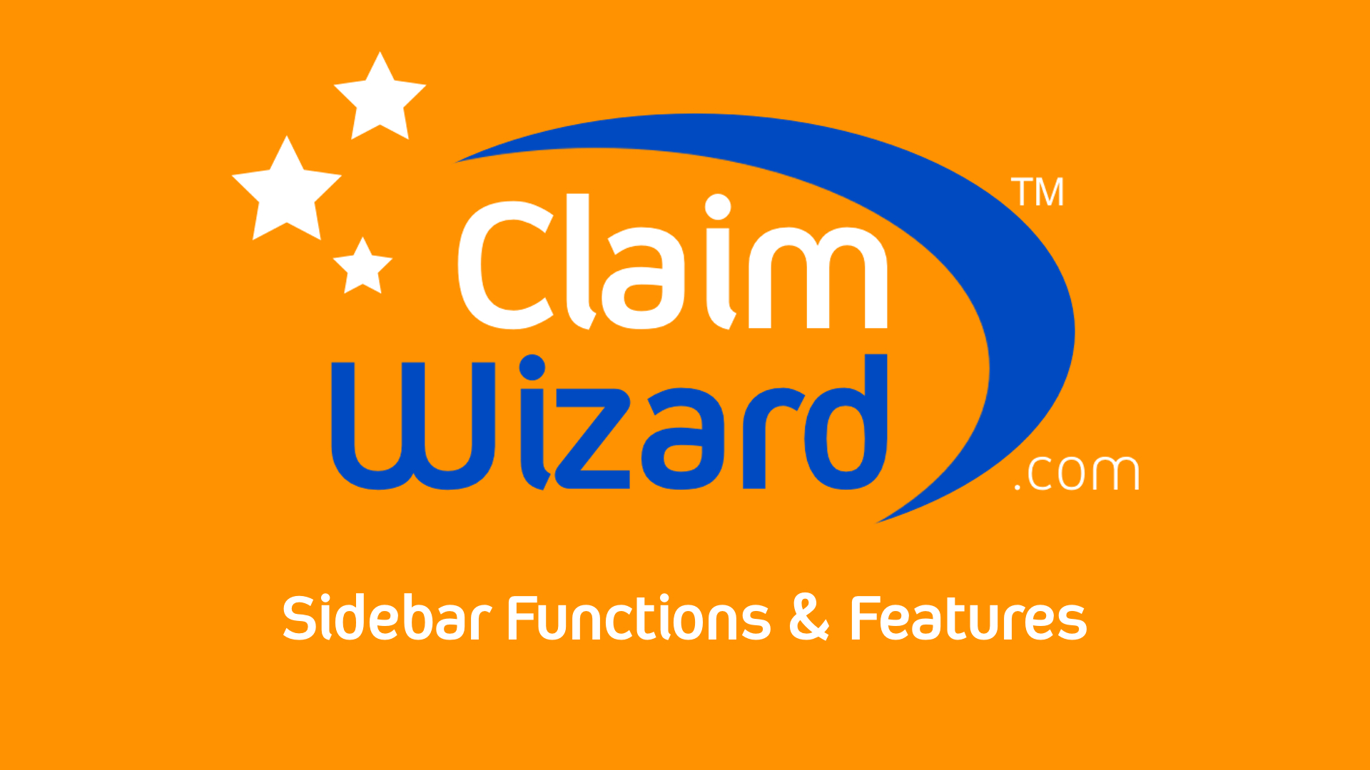 Sidebar Functions and Features